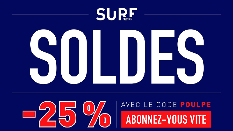 faites les soldes chez surf session surf session. Black Bedroom Furniture Sets. Home Design Ideas